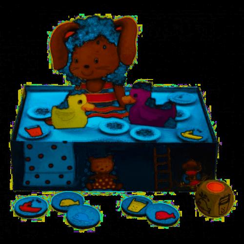 Gra Królik w Kąpieli - Haba