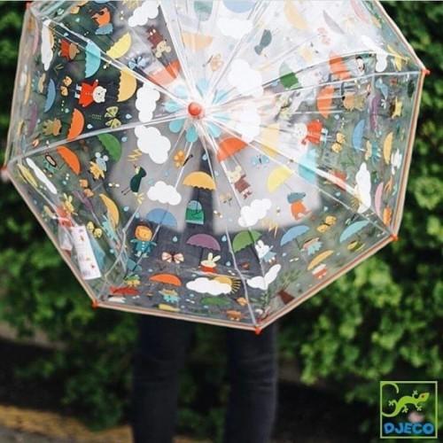 Parasolka transparentna w...