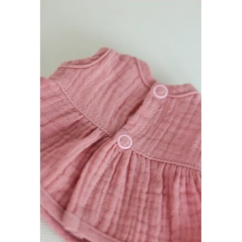 Sukienka Muślinowa Różowa...