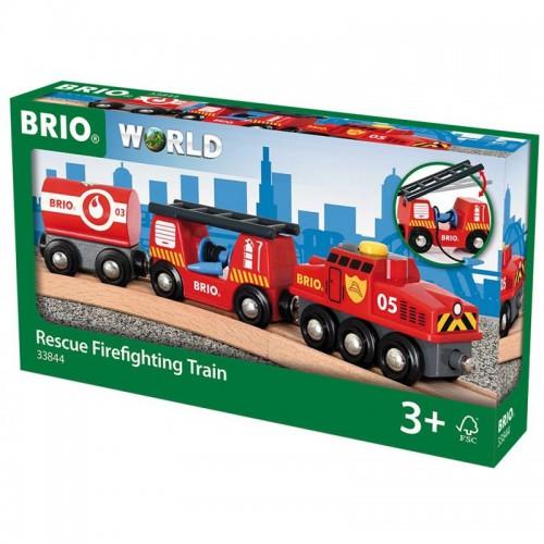 Pociąg Straż Pożarna - Brio