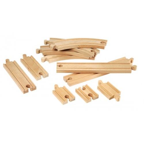 Zestaw Drewnianych Torów...