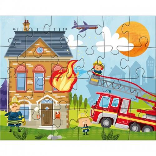 Puzzle 24 el. Straż Pożarna...