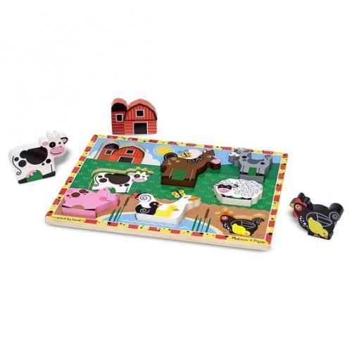 Puzzle Figurki Farma -...