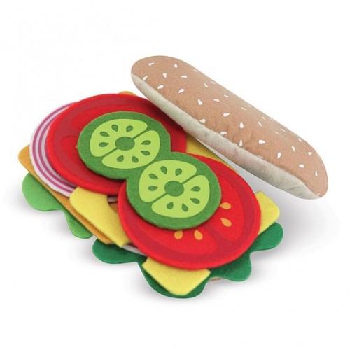 Kanapka Jedzenie z Filcu -...