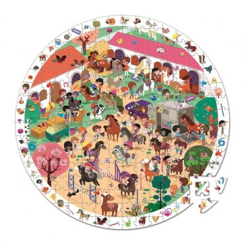 Puzzle Obserwacyjne 208 el....
