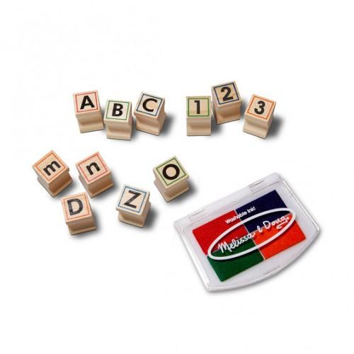 Stempelki Alfabet Literki...