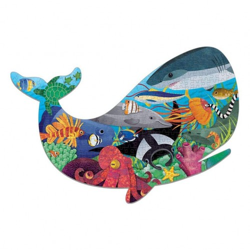 Puzzle Kształt Wieloryb...