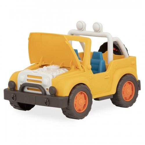 Żółty Jeep 4x4 - Wonder Wheels