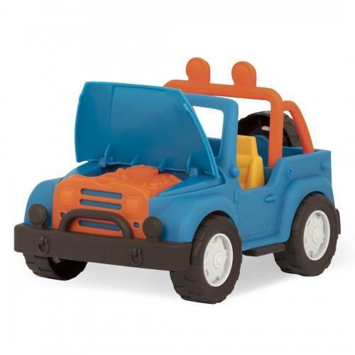 Niebieski Jeep 4x4 - Wonder...