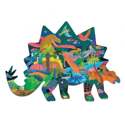 Puzzle kształty Dinozaury...