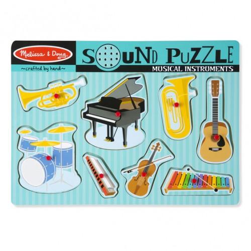 Puzzle Muzyczne Instrumenty...