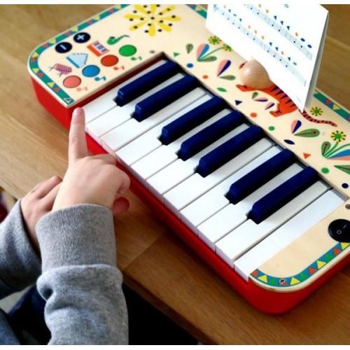 Syntezator Pianinko - Djeco