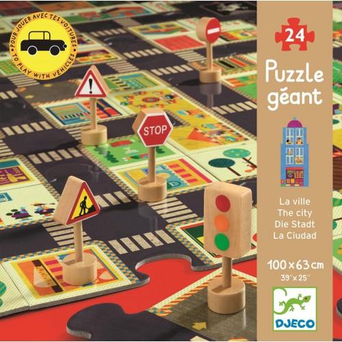 Puzzle Podłogowe Droga...