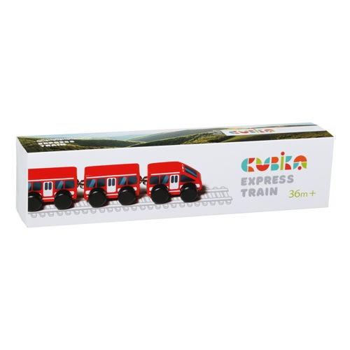 Drewniany Pociąg Express 4...