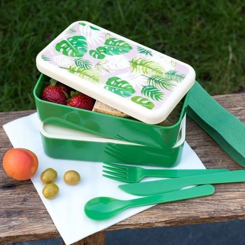 Lunchbox ze Sztućcami...