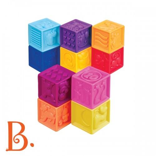 B.toys - miękkie klocki 10...